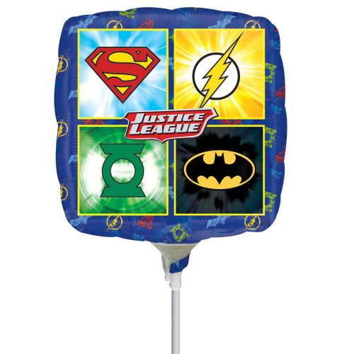 Justice League Foil Mini Shape Flat